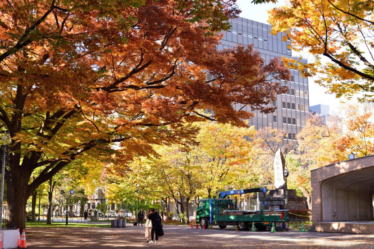 12:08 大通公園