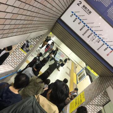 20:15 地下鉄豊平公園駅